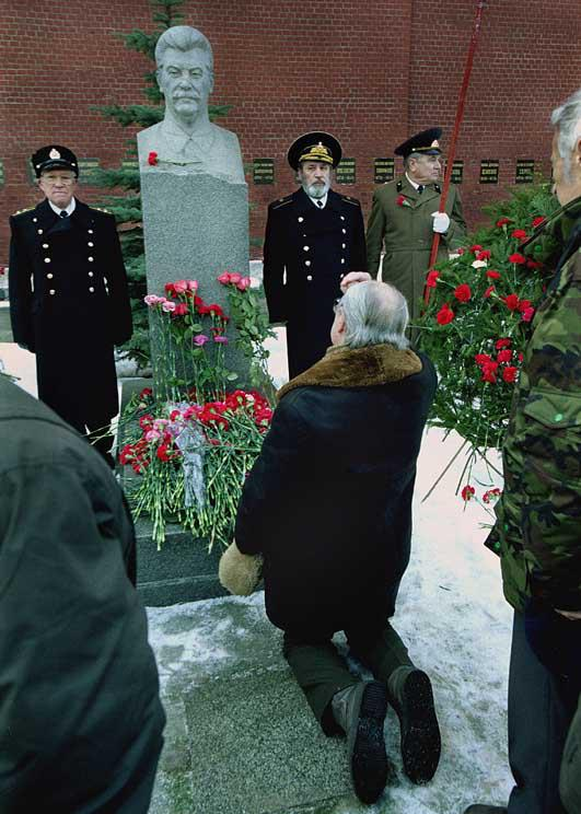 Behind The Iron Curtain: Stalins Corpse Moves Out Of The Tomb