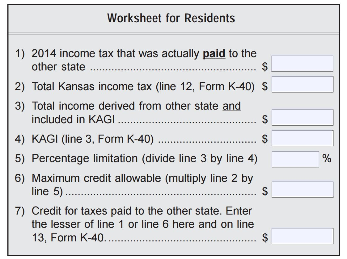 Uncategorized State And Local Income Tax Refund Worksheet refund for kansas residents paying city missouri earnings so my suggestion is before you spend money or time trying to amend your taxes run numbers through this worksheet